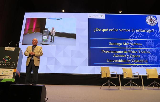 Santiago Mar Saldaña, en la conferencia de clausura