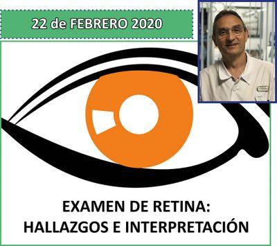 Curso sobre examen de retina